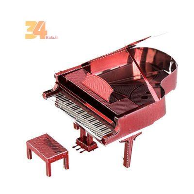 پازل فلزی سه بعدی رنگی پیانو