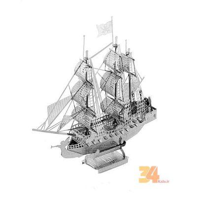 پازل فلزی سه بعدی کشتی دزدان دریایی 1800