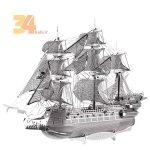 پازل فلزی سه بعدی کشتی دزدان دریایی 1900