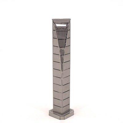 پازل فلزی سه بعدی مرکز تجارت جهانی شانگهای