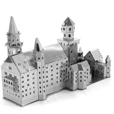 پازل فلزی سه بعدی قصر نویشوانشتین