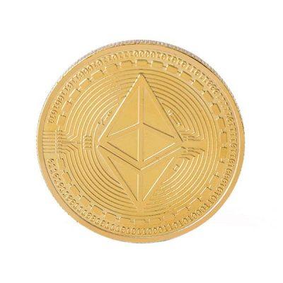سکه روکش طلایی اتریوم ETH
