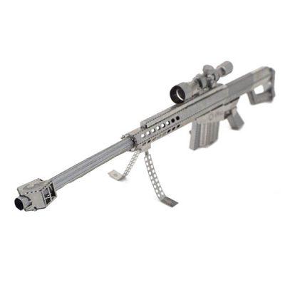 پازل فلزی سه بعدی تفنگ تک تیرانداز