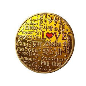 سکه مدل Love